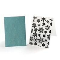 Christmas Snowflake Plastic Embossing Folder for Scrapbook DIY Album Card L&6