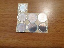 7 ologrammi adesivi power balance originali prima produzione made in usa