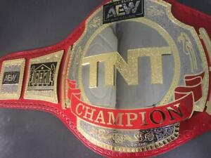 AEW TNT Wrestling Heavyweight Championship Title Belt