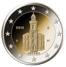 Pièces euro de la France année 2015