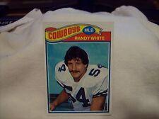 1977 Topps Football Randy White #342 - Cowboys