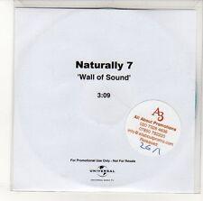 (EN599) Naturally 7, Wall Of Sound - DJ CD