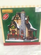 "New In Box 2016 Lemax Christmas Village ""Grizzly Cabin"" #65095 Rare"