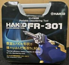 Hakko Fr301 82 Ac100v Desoldering Tool With Case