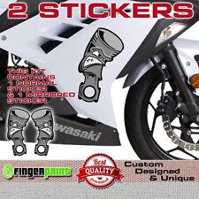 PISTON sticker decal vinyl fairing kawasaki honda yamaha NINJA ducati suzuki zx
