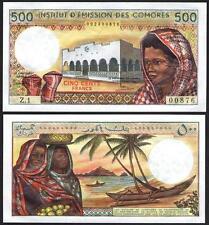 COMOROS 500 Francs 1976 UNC P 7 a (2)
