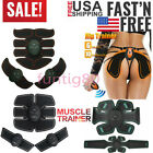 Smart EMS Abdominal Hip Trainer Electric Muscle Stimulator Buttocks ABS Exersize