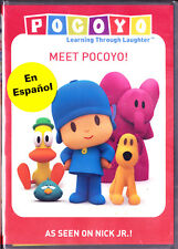 Pocoyo: Meet Pocoyo DVD Free Shipping English or Spanish Audio New