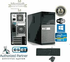 Dell Tower 790 Intel Core I5-2500 3.30 GHz 8GB RAM 500GB HD Windows 10 HP wifi