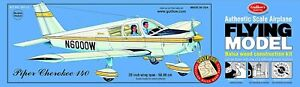 """Guillows 307 Piper Cherokee 140 20"""" Model Kit Made in USA Free Shipping"""
