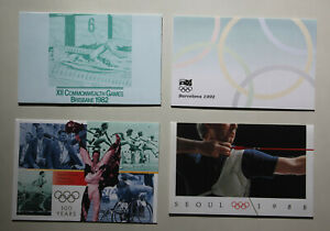 Australian Post Office Packs x 4 Olympics/ComGames