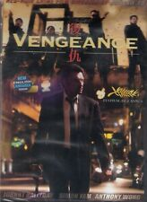 Vengeance DVD Directed By Johnny To / Simon Yam Anthony Wong Johnny Halliday