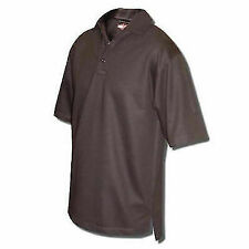 Tru-spec 4328005 Black 24-7 Series Short Sleeve Gusset Polo Sz Large