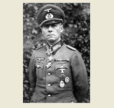 Erwin Rommel Military Uniform PHOTO World War II German Portrait Pose,DESERT FOX