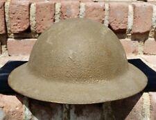New listing Ww1 Us M1917A1 Kelly Combat Helmet Original Liner & Chin Strap Yj 139!