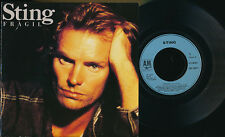 "STING 45 TOURS 7"" FRANCE FRAGIL (PORTUGUES) + cover jimi hendrix"