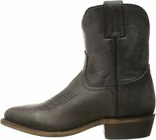 Frye Womens Billy short Leather Pointed Toe Mid-Calf Cowboy, Smoke, Size 8.5 bDr