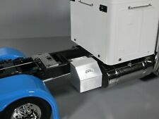 Simulate Aluminum Side Storage Tool Box Rail Mount Tamiya 1/14 King Grand Hauler