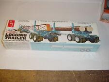 """1/25 AMT Vintage """"Roadrunner"""" Logging Trailer Kit Sealed! New Old Stock!"""