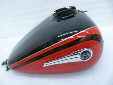 CVO Limited Harley Davidson Touring Gas Tank Carbon Dust Electric Red Pearl