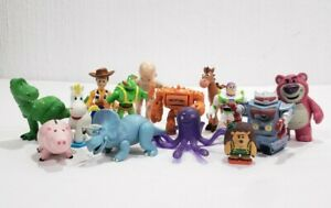 Imaginext 14 Figures Lot Disney Toy Story Woody Buzz Bullseye Lotso Rex More