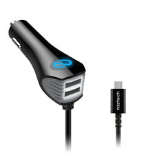 Naztech N420 Wired Micro USB DC Car Charger - [Black]
