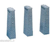 Faller 120479, 3 Viaduct Piers, Miniatures H0 (1:87)