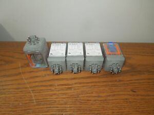 5- Releco C2-A20X Llyod's 10A/120V 4A/300V Control Relay New Surplus