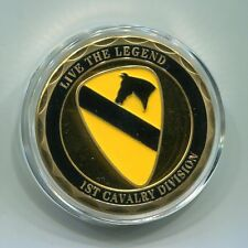 US Army 1st Cavalry Division Commemorative challenge coin