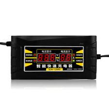 12V 6A Auto Car Battery Smart Charger Wet Dry Lead Acid Digital LCD EU/US Plug