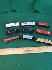 N Scale 9 Freight Cars Atlas Trix Other Nice Condition (HON32716)