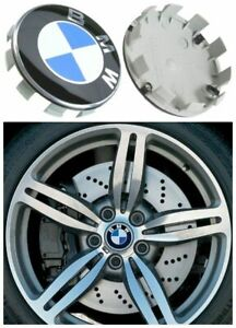 4X 68MM WHEEL RIM CENTRE HUB CAP CAPS COVER REPLACEMENT FOR BMW 3 4 5 6 7 SERIES