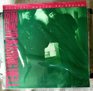 RUN DMC VINYL raising hell LP x2 ORIGINAL MASTER RECORDING MOFI #896/3000 TRICKY