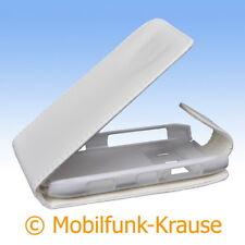 Flip Case Etui Handytasche Tasche Hülle f. Nokia N8-00 (Weiß)
