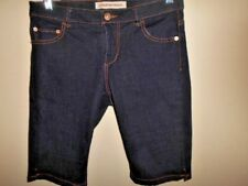 COUNTRY ROAD denim SHORTS size 8 indigo blue stretch cotton as new summer casual