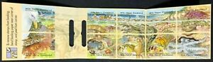 New Zealand - 1996 - Marine Life Booklet - 10 x 40c Self Adhesive Stamps