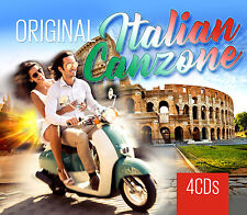 CD Original Italian Canzone von Various Artists 4CDs