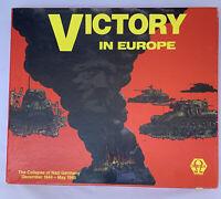 Omega Games Wargame  Victory in Europe (1st Ed) - Designer's Letter