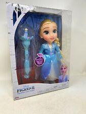 Disney Frozen II Elsa Doll & Snow Scepter