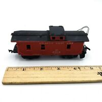 HO Scale Train Revell Atlantic Coast Line Red 4062 Caboose