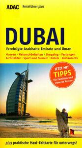 REISEFÜHRER DUBAI OMAN + EMIRATE, ADAC plus +große Landkarte, UNGELESEN WIE NEU