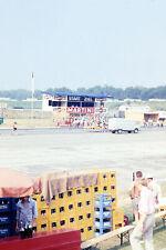 1971 Germany Coke Budweiser Vendor Car Racetrack Race Track 35mm Slide Photo
