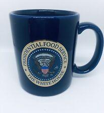 The Presidential Food Service White House Cobalt Blue Mug