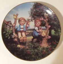 Apple Tree Boy And Girl M J Hummel Collector Plate Danbury Mint