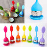 Tea Infuser Loose Leaf Strainer Silicone Herbal Spice Filter Diffuser Ball New