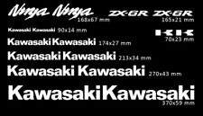 KIT ADESIVI MOTO KAWASAKI ZX6R REPLICA PRESPAZIATI ALTA QUALITÀ SCEGLI IL COLORE