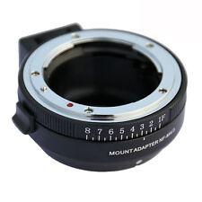 NF-MFT Aperture Adapter for Nikon A F G D Mount Lens to Olympus M4/3 MFT Camera