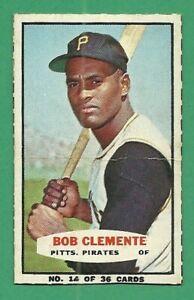 1965 65 Bazooka Rare Nice Roberto Clemente Bob HOF Pittsburgh Pirates 14