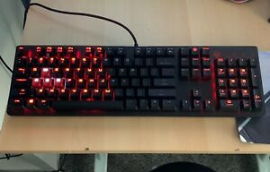 HP Omen Encoder Gaming Mechanical Keyboard Cherry Red MX Switches