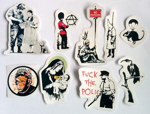 Banksy Sticker Set Vinyl Decal Pack Car Bike Street Art Graffiti Skate Anarchy